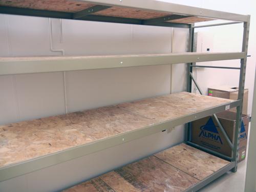 Gorilla Rack Shelves Side Front